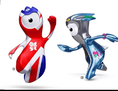 Image result for 2012 London Games' mascot